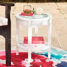 Grandin Road Outdoor Furniture by Luciana Side Table Grandin Road