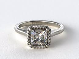 princess cut engagement rings with halo top 10 designs for princess cut halo engagement rings images