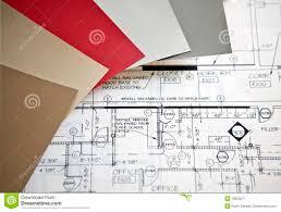 interior design plans stock image image 18663671