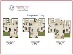 Unit Floor Plans by Amenities Floor Plans Keystone Place At Forever Green