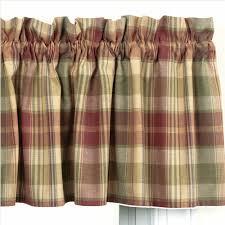 Saffron Curtains Country Valance Curtains Saffron Pattern
