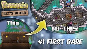 terraria 1 3 let u0027s build series ep1 start with style terraria