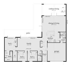open ranch style house plans ucda us ucda us