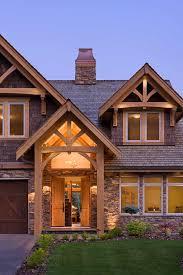 a frame home compact hybrid timber frame home design photos