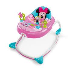 Pink Swinging Baby Chair Minnie Mouse Peekaboo Walker Disney Baby