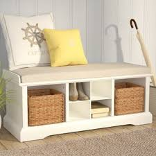 Solid Wood Shoe Storage Bench Solid Wood Shoe Storage You U0027ll Love Wayfair