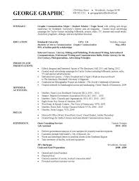 Best College Resumes by College Freshman Resume Example