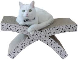 vivaglory luxury x shaped cat scratcher kitty scratching cardboard