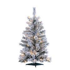 sterling 3 ft pre lit colorado spruce artificial tree