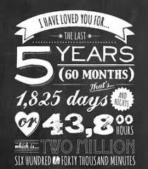 five year anniversary ideas free anniversary printables happy house of 5 deborah