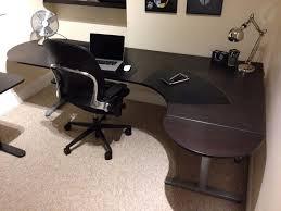 Ikea Corner Desk Top by Ikea Bekant Corner Desk Right Side With Extension U0026 Silver U0027t