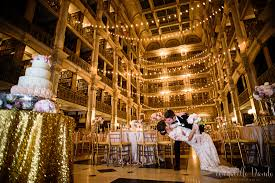 wedding in the george peabody library