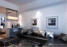 3d design white stone wallpaper pvc wallpaper roll white wallpaper