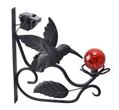 Bird Solar Lights by Amazon Com Moonrays 91267 Solar Powered Humming Bird Plant