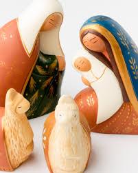 trades of nativity ornament set