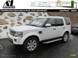 white land rover lr4 2017 2015 fuji white land rover lr4 hse 100070083 gtcarlot com car