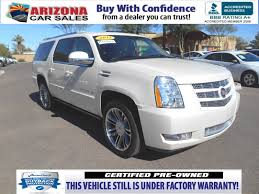 lexus certified pre owned phoenix certified pre owned 2013 cadillac escalade esv premium sport
