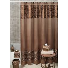 Dainty Home Flamenco Ruffled Shower Curtain Black And Brown Shower Curtains Shower Curtain Pinterest Toilet