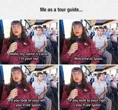 Meme Guide - tour guide meme xyz