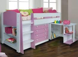 High Sleeper With Sofa And Desk Midsleeper Bed Children S Beds Sleepland Beds
