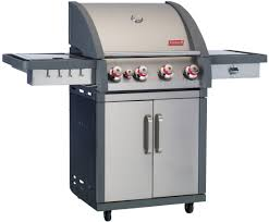Backyard Grill 4 Burner Gas Grill by Coleman Xtr4 4 Burner Stainless Freestanding Gas Grill