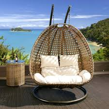 Trully Outdoor Wicker Swing Chair by Outdoor Egg Swing The Trully Outdoor Wicker Swing Chair Hanging