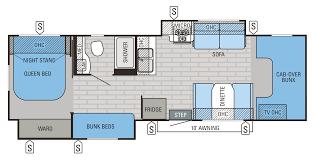 Jayco Caravan Floor Plans 2016 Greyhawk Class C Motorhome Floorplans U0026 Prices Jayco Inc