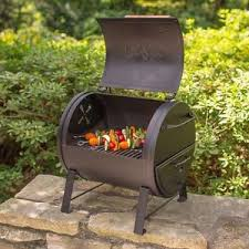 charcoal grill table top smoker barbecue camp patio backyard bbq