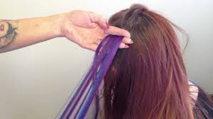 Ombre Hair Extensions Tape In by Two Color Tape In Hair Extensions How To Mov Youtube