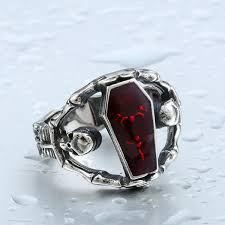 coffin ring skull coffin ring thefashionbooth