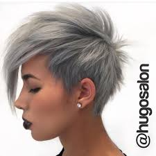 funky hairstyle for silver hair 29 best hair images on pinterest short cuts shorter hair and