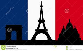 french design with paris flag stock vector image 49942164