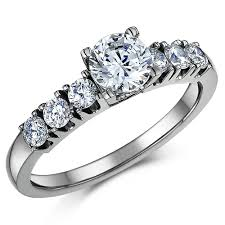 solitaire stone rings images Titanium engagement rings and exquisite titanium solitaire multi jpg
