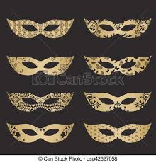 gold masquerade mask gold masquerade mask silhouettes gold color masquerade mask