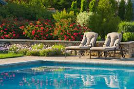pool garden ideas swimming pool landscaping officialkod com