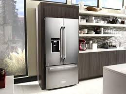 kitchenaid cabinet depth refrigerator kitchenaid shipping new counter depth fridge twice