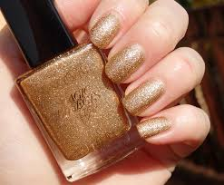 review of avon magic effects molten metal nail polish in copper