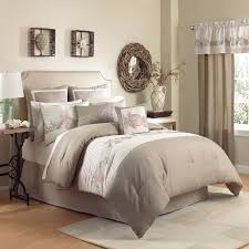 bedroom california king comforter sets with wooden floor and california king comforter sets with natural carpet and small standing lamp also brown curtain for bedroom