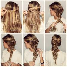 hair braid across back of head city braid tutorial instabraid