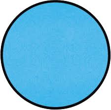 Round Blue Rugs Round Classroom Carpets And Rugs For Kids