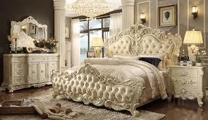 Luxurious Bed Frames Calm Nuance Of Antique Bedroom Decoration Design