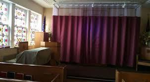 Church Curtains Va Hospital Hides Jesus Curtain In The Chapel Charisma News