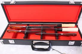 Case Kitchen Knives Japanese Kitchen Knife leather Case Black For Six Knife 51 X 15 X