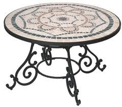 Mosaic Patio Table And Chairs Enchanting Design For Mosaic Patio Table Ideas Mosaic Garden Table