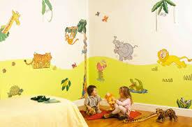 décoration chambre bébé jungle modèle decoration chambre bebe animaux jungle