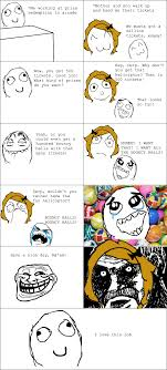 Rage Meme Comics - the ten most hilarious rage comics ever