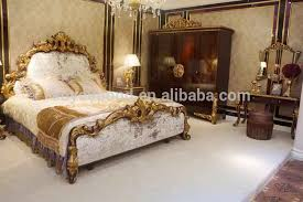 0063 2016 high quality arabic wooden hand carved bedroom furniture