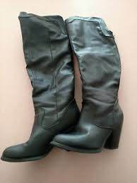 used womens boots size 9 used s black pirate swashbuckler style boots size 9 ebay