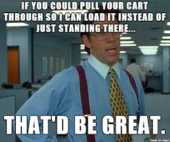 Grocery Meme - mrw working as a grocery bagger meme on imgur
