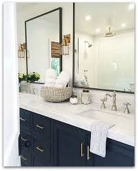Blue Bathroom Vanity Cabinet My Love For Navy Blue And The Next Big Plan U2014 Classy Glam Living